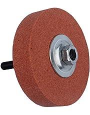 AMZH Muela abrasiva doméstica Resistencia a Altas temperaturas Durabilidad Tiene Buen Rendimiento de Pulido (Diámetro: 90 mm Agujero Interior: 10 mm Espesor: 20 mm)