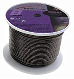 Audiobahn A50010B, Ground Wire, 10 Gauge, 150m Reel, Black, 462 Cores