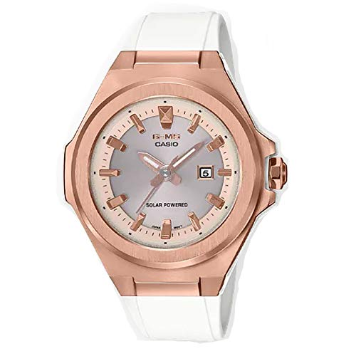 Casio MSGS500G-7A2 Baby-G - Reloj para mujer, color blanco, 42,4 mm, resina