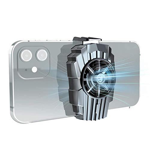 Ventilador Del Enfriador Del Teléfono, Radiador Silencioso Portátil De Enfriamiento Rápido Para Teléfono Móvil, Radiador Refrigerado Por Aire Mejorado Adecuado Para La Mayoría De Los Teléfonos Intelig