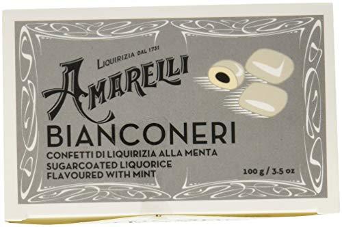 Liquirizia Amarelli grigia Bianconeri - 200 gr