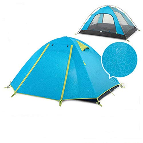 TYGYDLQ Outdoor Tents, 2 People Camping Thickening rain and Sun Beach Seaside Camping Equipment Family Camping Tent (Color : B)