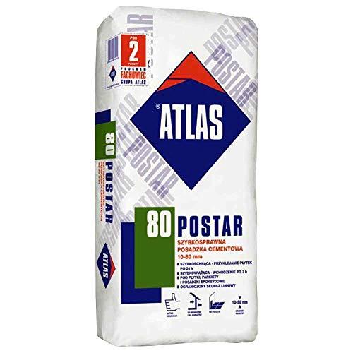 Ausgleichsmasse ATLAS POSTAR 80 25Kg Zementestrich 10-80 mm
