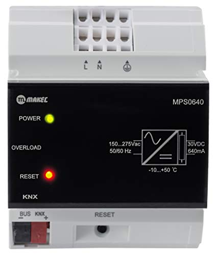 KNX - Alimentatore di rete 640 mA / KNX 640 mA di MAKEL per l\'installazione KNX