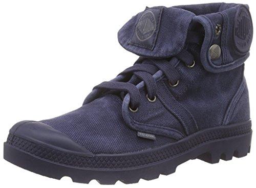 Palladium Damen Pallabrouse Baggy Combat Boots, Blau (Parisian Night/Eiffel Tower 490), 36 EU