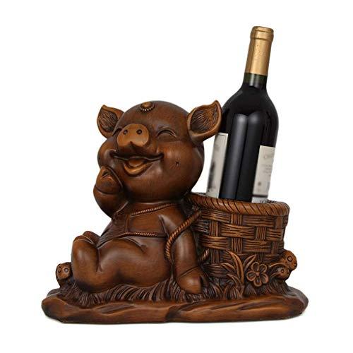 Estante de vino Creativo Resin