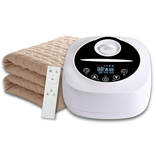 Manta electrica, Colchón Inteligente De Calentamiento De Circulación De Agua, Cálido Y Cómodo, Pantalla Táctil Digital con Control Remoto
