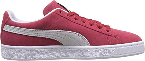 Puma - Suede Classic+ - Baskets mode - Mixte Adulte - Rouge (team regal red-white) - 43 EU