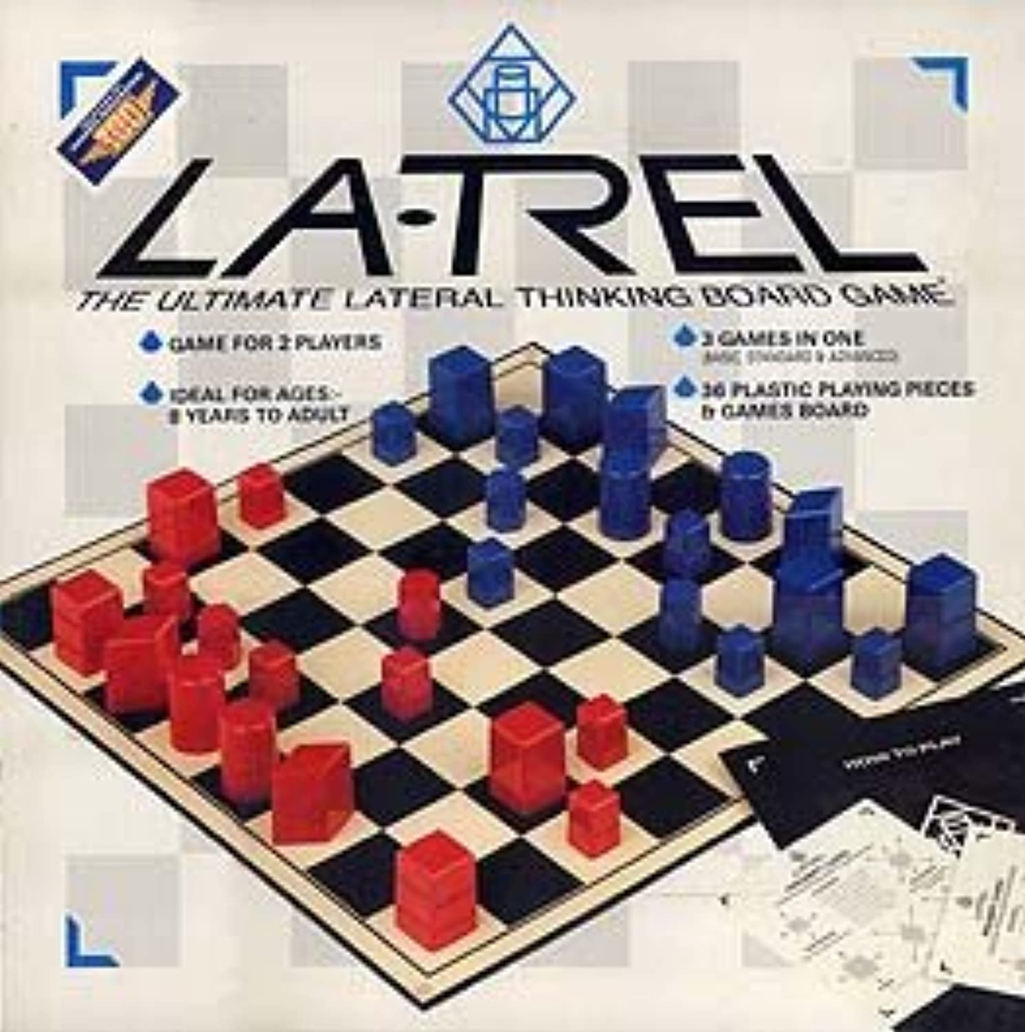 Lateral Thinking Board Game  Latrel