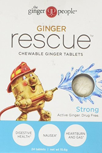 Ginger People The Ginger Rescue Strong, 0.55 Oz, 24 Count