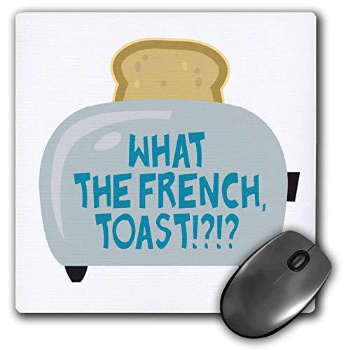 Mauspad lustig was der französische Toast-Toaster-Humor