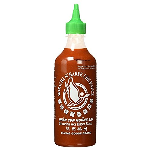 German Flying Goose Sriracha Chili Sauce Spicy - 1 x 455 ml