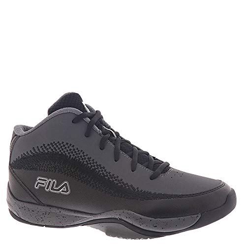 Fila Herren Contingent 4 Basketball-Sneaker, Schwarz (schwarz / grau), 43.5 EU