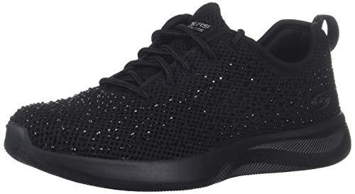 Skechers 32805-BBK_38, Zapatillas Mujer, Negro, EU