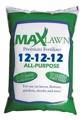 MaxLawn 12-12-12 All-Purpose Fertilizer | Balanced Fertilizer | Great for Lawns, Flowers, Gardens,...
