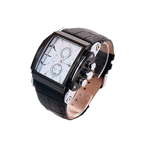 orologio sportivo moda per donna uomini banda rettangolare Dial Orologi da uomo