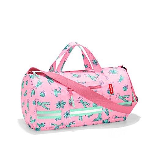 Reisenthel Mini maxi borsa per bambini S 38 x 21 x 21 cm, 10 litri, Cactus rosa. (Rosa) - IH3055