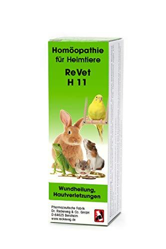 ReVet H 11 Globuli für Heimtiere -Homöopathisches Arzneimittel für Heimtiere, freiverkäuflich, 10 g