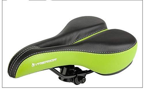 Fietszadel, fietszitje met ergonomisch design, ademend, hol, comfortabel, bekleed van memory-schuim, zitkussen dik voor fiets, zadel, ademend.