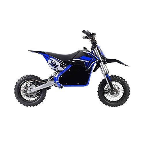 Elityon Moto Eléctrica Niños Desde 6-7 años | Minimoto Eléctrica Hulk Azul | Moto eléctrica 1060W y 48v | También para Adultos < 60 kg