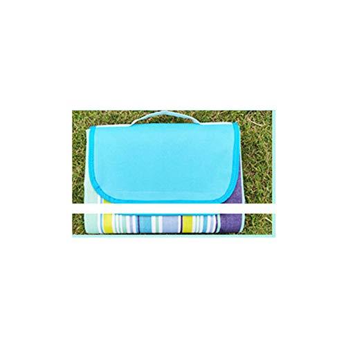 DLSM - Alfombrillas a prueba de humedad para exteriores, esterillas de picnic, esterillas gruesas para tienda de campaña, colchonetas de playa, esterillas de césped para salida, 5 de 195 x 150 cm