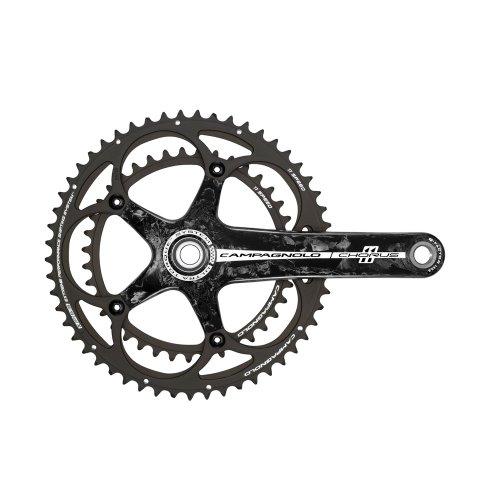 Campagnolo Chorus Ultra Torque Carbon 11 V – Set de manivelle et plateaux pour vélo, mixte adulte, Chorus Ultra Torque Carbon 11V 170-39x52, 170-39x52