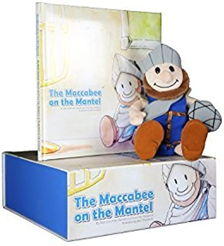 suministramos lo mejor Maccabee Maccabee Maccabee on the Mantel Book and Plush Gift Box Set by Toy Vey  diseño simple y generoso
