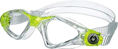 Aquasphere Swim Pool Eye Schutzbrille Schwimmbrille Kayenne Junior, Transp/Lime Jnr