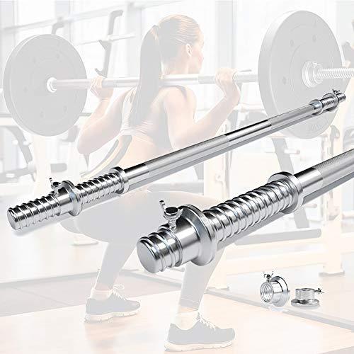 SHDAS Barbell Dumbbell 120cm/150 cm/180cm Bilanciere, Bicipiti Triceps Barra di Formazione, Bilanciere Olimpico, Palo Peso, Barra Olimpica, Gym di Pesi di Manubri180cm