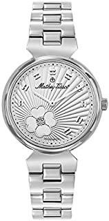 Mathey-Tissot Casual Watch For Women Analog Stainless Steel - D1089Ai, Quartz Movement