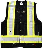 Viking Men's Open Road Fr Surveyor Vest Black, Black, L
