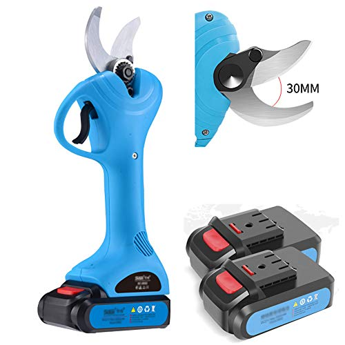 For Sale! MSHK Portable Professional Branch Cutter,Lithium Pruning Shears, Cordless Electric Pruner,...