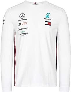 Mercedes-AMG Petronas Motorsport 2019 F1 Team Long Sleeve Driver T-Shirt White (L)