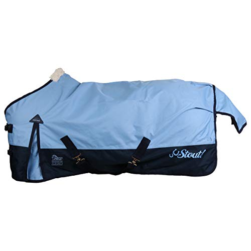 Harry's Horse Outdoordecke 0gr Stout! Blue Shetty (105 cm)