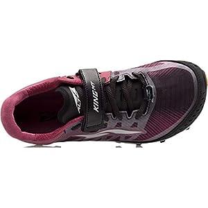 ALTRA Women's ALW1952G King MT 2 Trail Running Shoe, Black/Rose - 8 M US