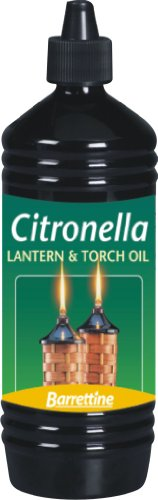 Barretine Citronella Lantern Torch and Lamp Oil 1L