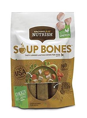 Rachael Ray Nutrish Soup Bones Dog Treats, 3 Count (Pack of 8)