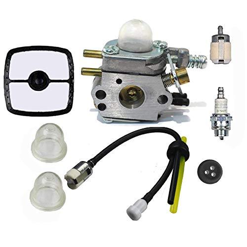 Hippotech Vergaser & REPOWER Tune-up Kit Fuel System Wartung für Echo Rasentrimmer c1u-k29C1u-k47C1u-k52SRM2100srm2110shc1700shc2100Zama Vergaser Kit