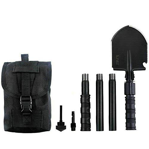IUNIO Portable Folding Tactiacal Shovel and Pickax