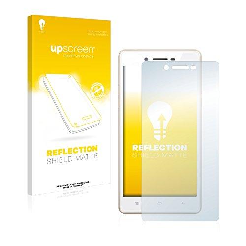 upscreen Entspiegelungs-Schutzfolie kompatibel mit Oppo Neo 7 – Anti-Reflex Bildschirmschutz-Folie Matt