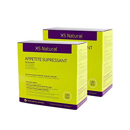 2 XS Natural Appetite Supressant: Cápsulas saciantes para c