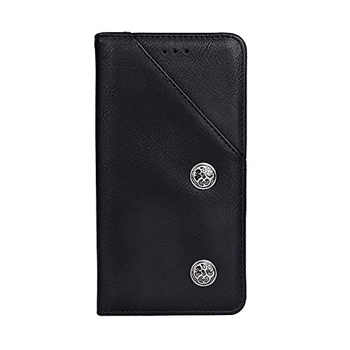 CiCiCat UMIDIGI A3/UMIDIGI A3 PRO Hülle Handyhüllen, Flip Back Cover Hülle Schutz Hülle Tasche Schutzhülle Für UMIDIGI A3/UMIDIGI A3 PRO Smartphone. (5.5'', Schwarz)
