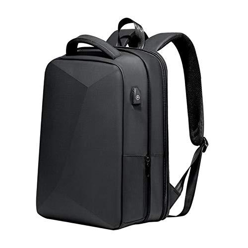 Hellery Resistente al Agua con Carga USB antirrobo Mochila portátil de Gran Capacidad para Senderismo Daypack Viaje Trabajo - Versión de actualización
