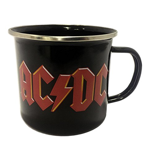 Close Up Taza esmaltada AC/DC - Logotipo