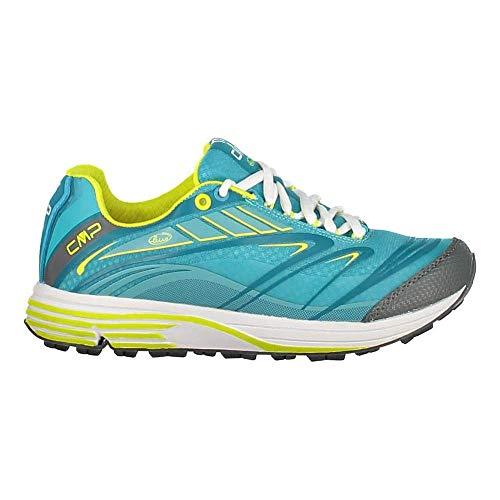 CMP Chaussures de Course Chaussures de Sport Maia WMN Sentier Chaussures Blau Léger Plaine Nylon Mesh - L519 Océan, 38 EU