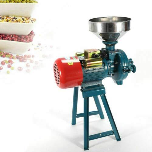 Wangkangyi Getreidemühle Elektrische Schrotmühle Kornmühle Kaffeemühle für Küche Mais Weizen Reis Sorghum Mühle