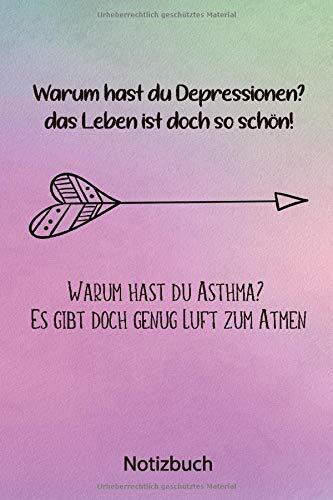 Notizbuch: Asthma Tagebuch | Peak Flow Protokoll für 100 Wochen - DIN A5 (Peakflow Tabelle + Symtome & Notizen)
