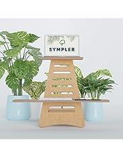 SYMPLER | Zit-sta-bureau | In hoogte verstelbare staande werktafel omzetter | Zittend staand bureau | Ergonomische bureau verhoger