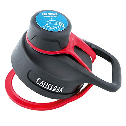 CAMELBAK Unisex– Erwachsene Ersatzdeckel für Chute Vacuum Insulated Flaschen, rot, One Size