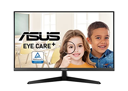 ASUS VY279HE 68,6 cm (27 Zoll) Eye-Care Monitor (Full HD, 75Hz, IPS, FreeSync, Blaulichtfilter, VGA, HDMI, 1ms Reaktionszeit)